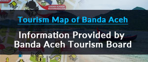 Tourism Map of banda Aceh